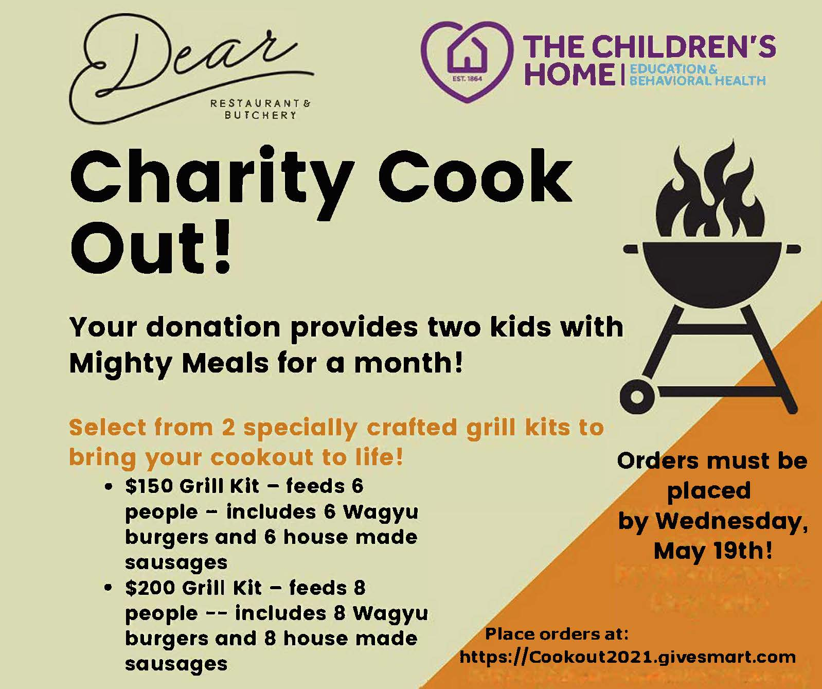 Children's Home Charity Cookout